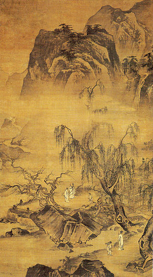 English: Wang Shichang: Landscape
