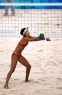 Wang Jie (beach volleyball) Chinese beach volleyball player