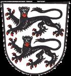 Das Wappen von Creglingen
