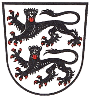 Creglingen - Image: Wappen Creglingen