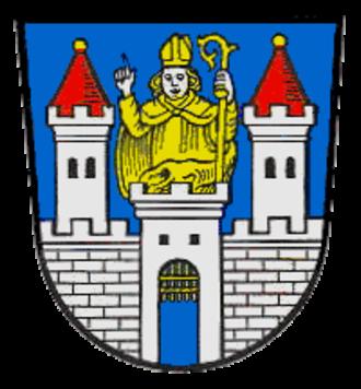 Tittmoning - Image: Wappen Tittmoning