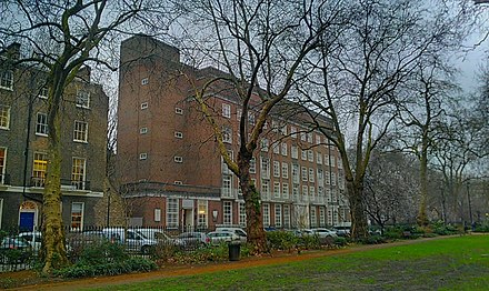 London's Warburg Institute was one of the first centres to encourage the academic study of Western esotericism Warburg Institute from Woburn Square.jpg