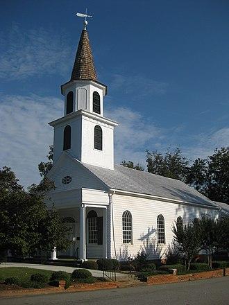 John Brown (educator) - Image: Washington (Georgia) Presbyterian Church