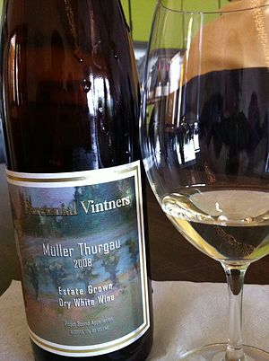 Müller-Thurgau - A Müller-Thurgau from Washington State.