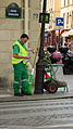 Waste collector Paris 2014.jpg