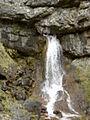 Waterfall into Gordale Beck - geograph.org.uk - 310523.jpg