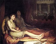 Waterhouse-sleep and his half-brother death-1874.jpg