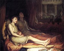 Hypnos a Thanatos od Johna Williama Waterhouse