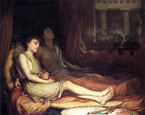 John William Waterhouse - Sleep and his Half-brother Death, 1874