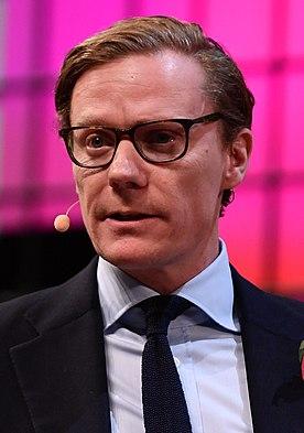 Alexander Nix British businessman