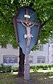Weilheim, Rathausplatz, Kruzifix, 1.jpeg
