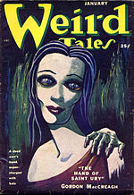 Weird Tales cover image for January 1951