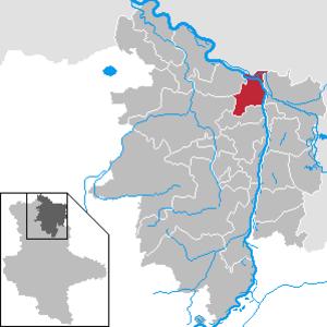 Werben (Elbe) - Image: Werben (Elbe) in SDL