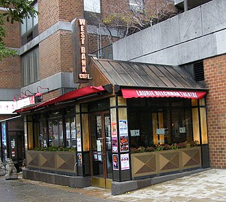 Laurie Beechman Theatre - Image: West bank cafe