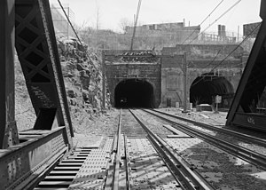 Bergen Tunnels - North Bergen and South Bergen tunnels