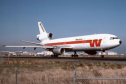 Western Airlines McDonnell Douglas DC-10-10
