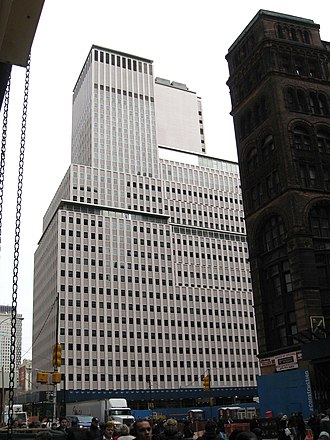 Western Electric - WeCo HQ at 222 Broadway (until 1984)