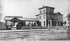 Western New York and Pennsylvania Railway (1895–1955) - Image: Western New York and Pennsylvania Railroad station in Rochester