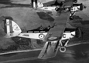 Westland Wapiti - Wapiti of 55 Squadron RAF