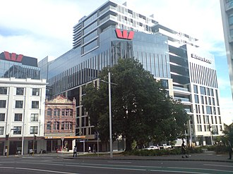 Westpac - Westpac NZ's head office in Auckland