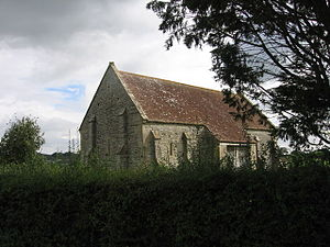 English: Court Barn near West Pennard, Somerse...
