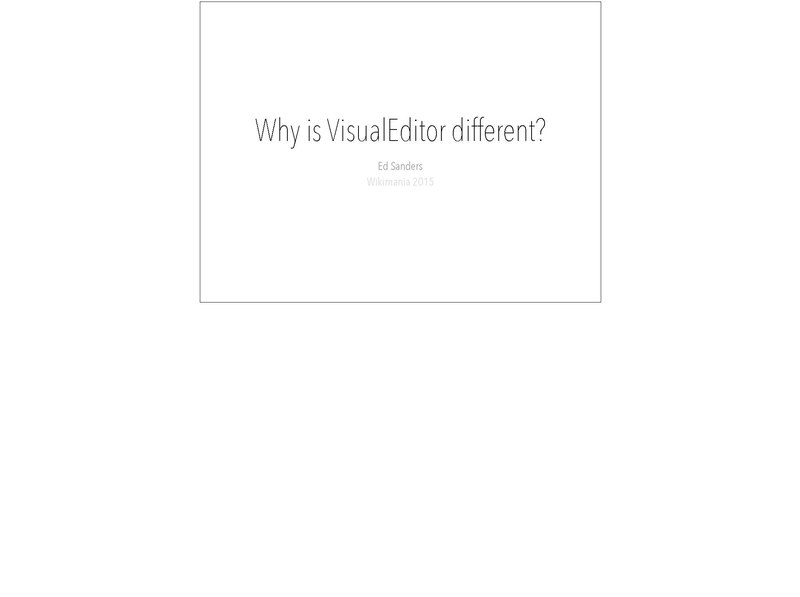 File:Why is VisualEditor different.pdf