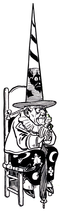 wicked witch of the west wikiwand rh wikiwand com Wicked Witch of the West Riding Bike Clip Art Melting Wicked Witch of the West