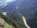 Widok z Sokolicy na przełom Dunajca - panoramio.jpg