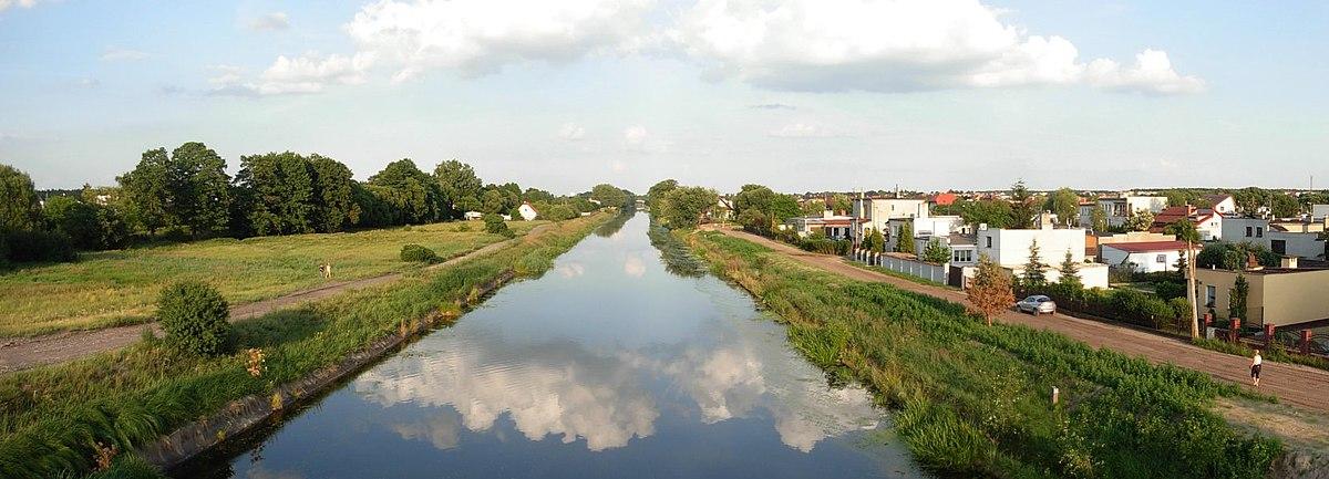 Polski: Kanał Bydgoski w zachodniej części miasta