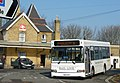 Wightbus 5862 HW54 DCE and Shanklin railway station 2.JPG