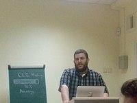 Wikimedia CEE 2014 (2014-12-21) by Kharkivian 04.jpg