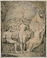 "William Blake - The Archangel Raphael with Adam and Eve (Illustration to Milton's ""Paradise Lost"") - Google Art Project.jpg"