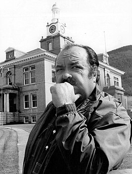 William Conrad als Frank Cannon in 1972.
