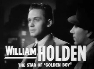 George Raft - William Holden and Raft in Invisible Stripes