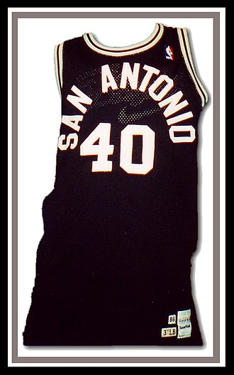 Willie Anderson (basketball) - Image: Willie Anderson jersey