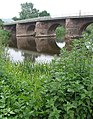 Wilton Bridge with sundial - geograph.org.uk - 459060.jpg