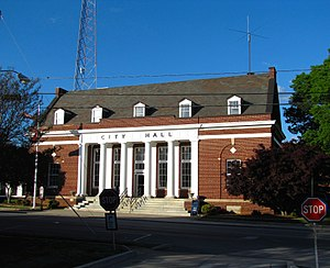 Winchester, Tennessee - Winchester City Hall