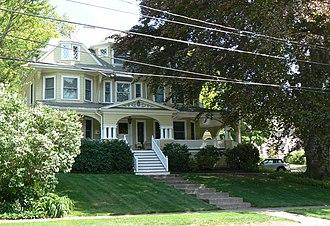 Edward Braddock House - Image: Winchester MA Edward Braddock House