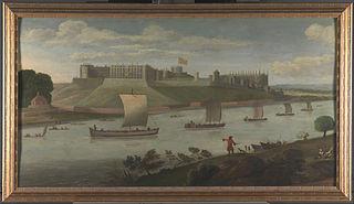 Windsor Castle from the Buckinghamshire Bank