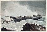 Winslow Homer - The wrecked Schooner.jpg