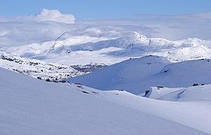Telemark - Winter landscape in Upper Telemark