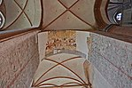 Wismar, St. Georgen, Fragmente mittelalterlicher Fresken 3.JPG