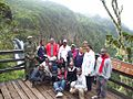 With Media Team on second familiarisation Tour by Aberdares Waterfalls.jpg