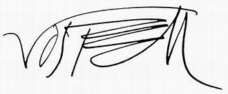 Wolf Vostell - Wolf Vostell - Signature