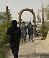 Women from 203rd Zone Afghan Border Police and TAAC-S attend shura at Kandahar Airfield, Afghanistan 150809-N-SQ656-288.jpg