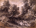Wooded Landscape with Cattle and Goats by Thomas Gainsborough.jpg