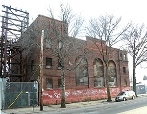 Atlantic Branch - Woodhaven Junction power substation
