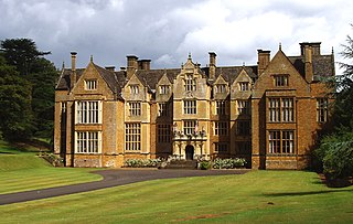 Wroxton Abbey Grade I listed manor house in Cherwell, United Kingdom