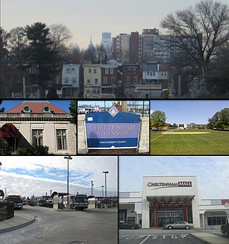 Wyncote, Pennsylvania - Image: Wyncote Collage