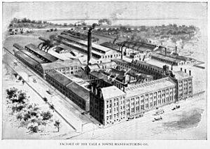 Yale (company) - Image: Yale & Towne Manufacturing Co, 1897